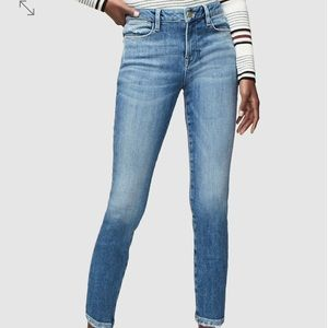 Frame Le High Skinny Crop high-waist jeans